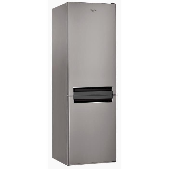 WHIRLPOOL BLF7121OX - Réfrigérateur congélateur bas - 307L (196+ ...