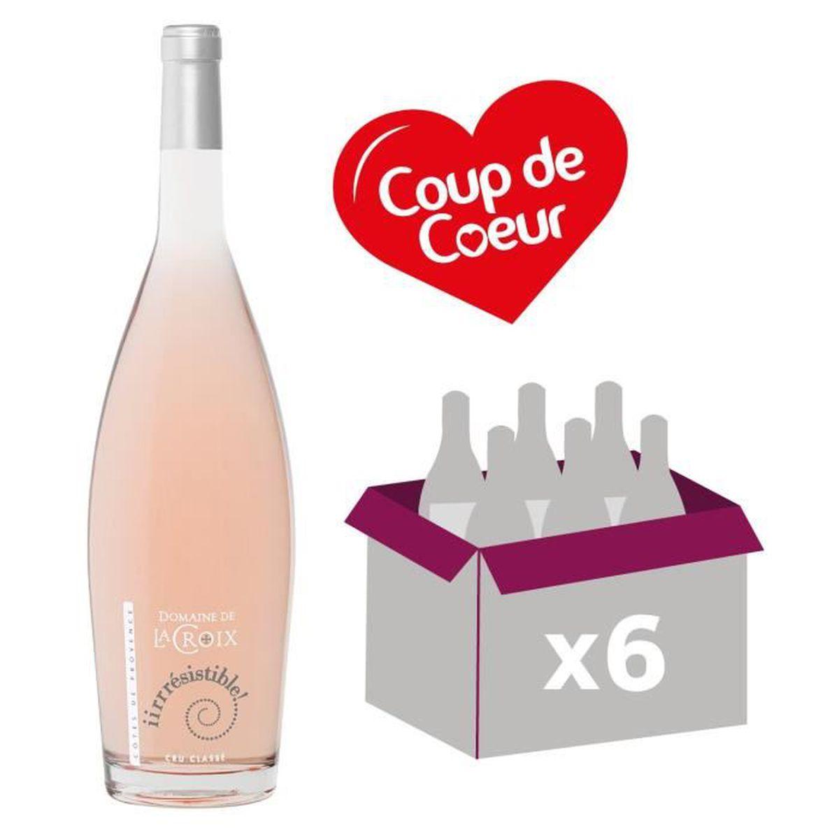 VIN ROSÉ Domaine de La Croix Cuvée Irrésistible 2016 Cru Cl