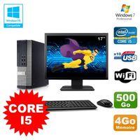 UNITÉ CENTRALE + ÉCRAN Lot PC DELL Optiplex 790 SFF Intel Core I5 3,1Ghz