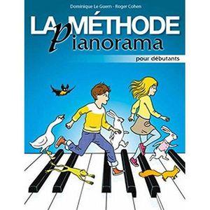 LIVRE MUSIQUE La méthode Pianorama