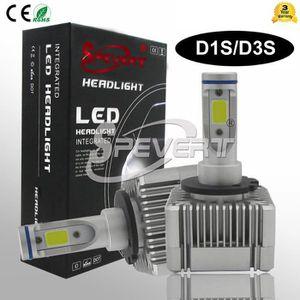 PHARES - OPTIQUES 110W 26000LM D1S D3S Kit de conversion de phare à
