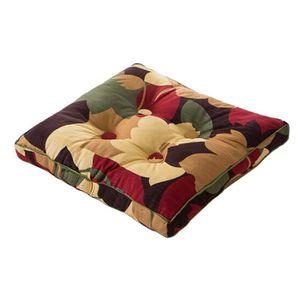 galette de chaise 50x50 achat vente galette de chaise 50x50 pas cher cdiscount. Black Bedroom Furniture Sets. Home Design Ideas
