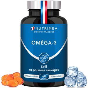 COMPLÉMENT MINCEUR OMEGA 3 + KRILL • Complément Alimentaire pour les