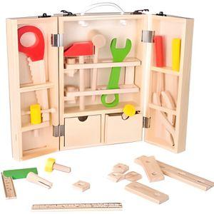 boite a outil bois enfant achat vente jeux et jouets pas chers. Black Bedroom Furniture Sets. Home Design Ideas