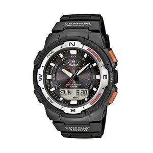 7dc58d53f70 MONTRE CASIO Femmes analogique - numérique montre à quart ...
