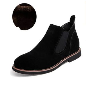 BOTTE Chaussure Homme plus velours capitonné