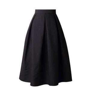 ca02bdf12fd JUPE Robe de soirée Femmes Jupe taille haute évasé Jupe