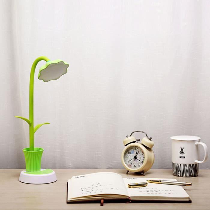LAMPE A POSER Nouveau LED de tournesol de bureau de charge lampe