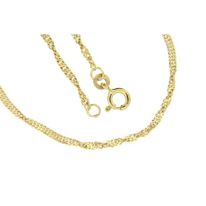 323035 - Collier Femme - Or Jaune 333-1000 (8 Cts) Z0S94