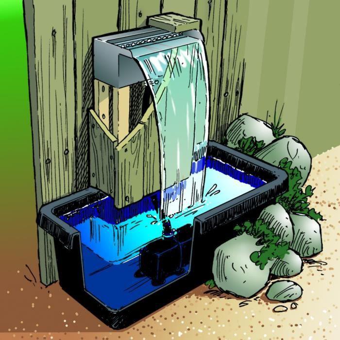 Cascade pour bassin de jardin achat vente cascade pour for Cascade bassin de jardin pas cher