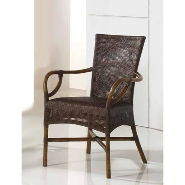 fauteuils en rotin pour salle manger mod le yerico. Black Bedroom Furniture Sets. Home Design Ideas