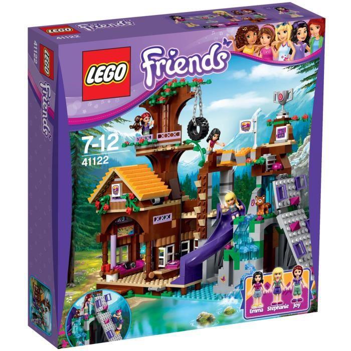 D'aventure La Lego® 41122 Base Friends Cabane De c3Aj5SRLq4