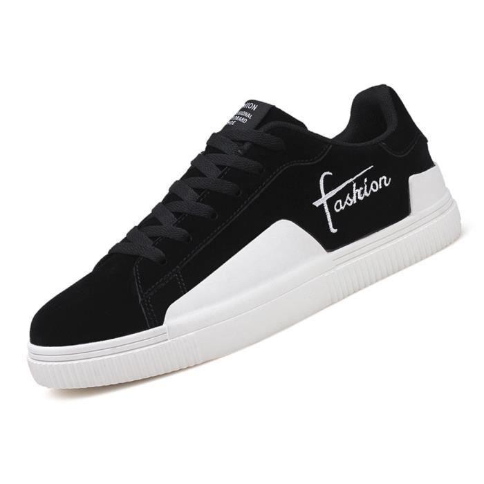 Chaussure Beau Doux Hommes 39 Respirant Antidérapant Qualité 44 Sneakers Mode Confortable Nouveauté Classique Sneaker Haut kwPX80On
