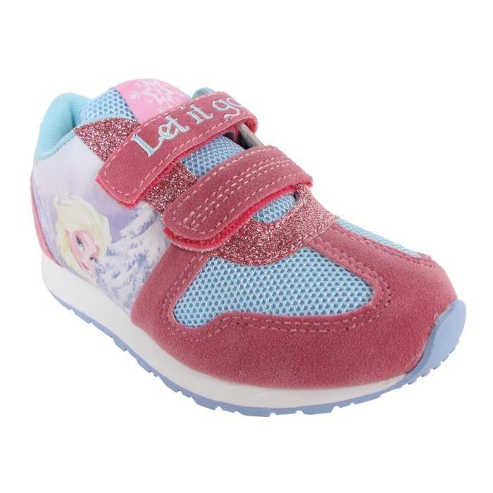 Chaussures de sport pour Fille DISNEY 2300-232 ROSA-CELESTE