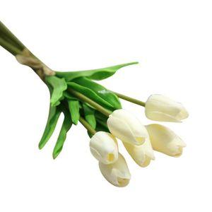Tulipes artificielles achat vente tulipes for Soldes fleurs artificielles