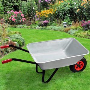 chariot de jardin remorqu achat vente chariot de jardin remorqu pas cher cdiscount. Black Bedroom Furniture Sets. Home Design Ideas