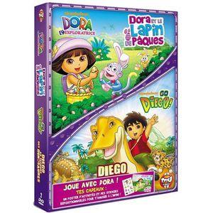 DVD FILM DVD Dora et le lapin de paques ; Diego au secou...