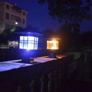 9b38c2c31b BALISE - BORNE SOLAIRE Énergie solaire Lampe frontale Lampe de mur extéri