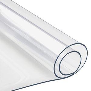 nappe transparente pour table achat vente pas cher. Black Bedroom Furniture Sets. Home Design Ideas