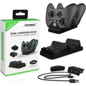 CONSOLE XBOX ONE Xbox One S Chargeur double station d'accueil avec