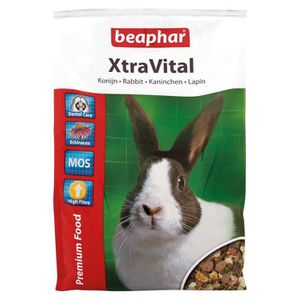 EXTRUDÉ - EN GRANULÉ BEAPHAR Xtravital Alimentation - Pour lapin