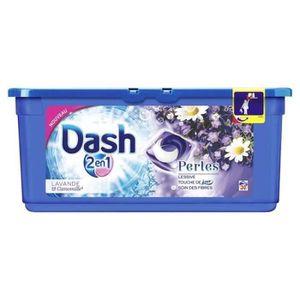 LESSIVE DASH 2en1 Lessive Perles Lavande Capsules - x30
