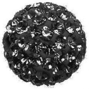 Perles 10 x Perle Noir 10mm
