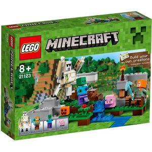 ASSEMBLAGE CONSTRUCTION LEGO® Minecraft 21123 Le Golem de Fer