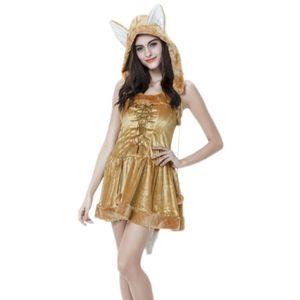 DÉGUISEMENT - PANOPLIE Femme Cosplay Renard Aimable Halloween Déguisement