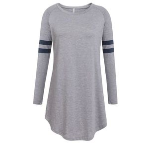 new collection wide varieties classic fit tee shirt manche longue femme sport