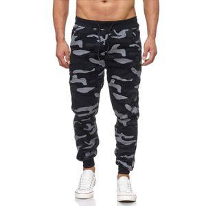 SURVÊTEMENT Jogging fashion noir camouflage Violento