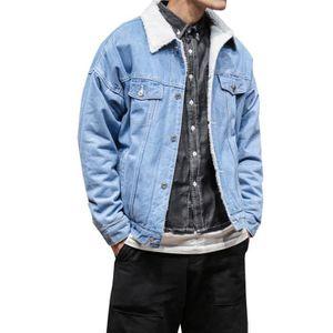 Blouson en jean homme grande taille - Achat   Vente pas cher 37594b30d597