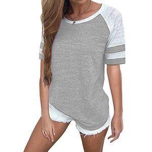 2d9c52f957d T-Shirt gris femme - Achat   Vente T-Shirt gris femme pas cher ...