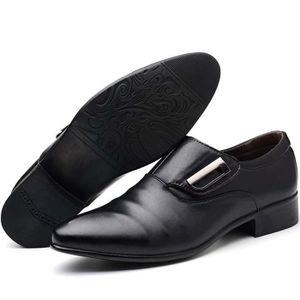 387cbd8ccd340a Chaussures cuir noir homme - Achat / Vente Chaussures cuir noir ...