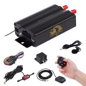 TRACAGE GPS TK103B Voiture Quad-bandes GSM GPRS GPS Tracker En