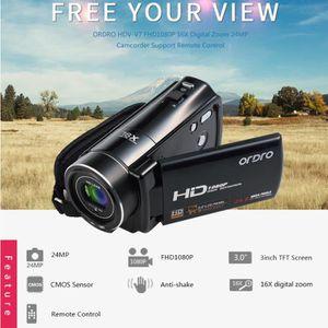 CASSETTE DV - MINI DV ORDRO HDV-V7 1080P Full HD Caméra Vidéo Numérique