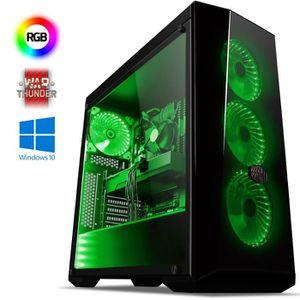 UNITÉ CENTRALE  VIBOX Submission 29X PC Gamer - AMD 8-Core, Geforc