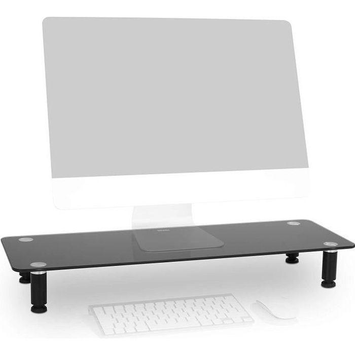 Duronic DM052-4 Réhausseur d'écran - Support en verre pour ...