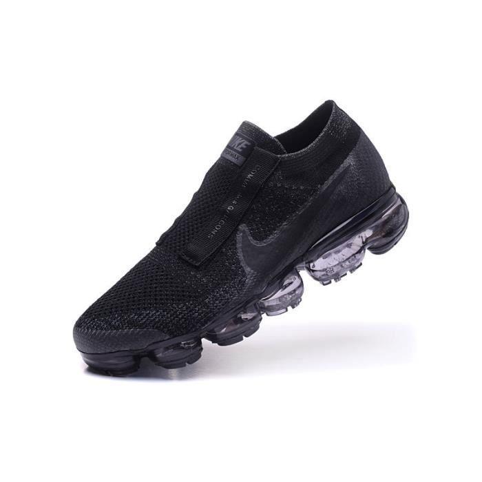 7289014f647c9 Nike Air Vapormax FK CDG Comme Des Garcons Baskets Chaussures De Sport Noir