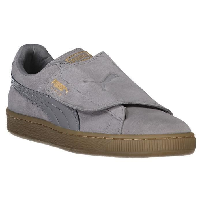 Chaussures homme Baskets Puma Suede Wrap