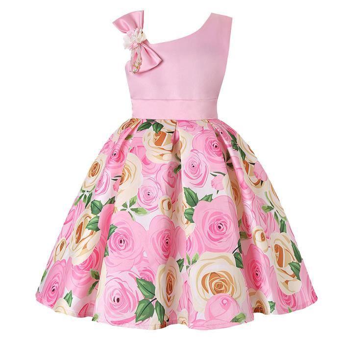 Bébé De D'honneur Robe Floral Demoiselle Princesse Pageant D'anniversaire Mariée Xnm2003 Fête rxQBeCdWEo