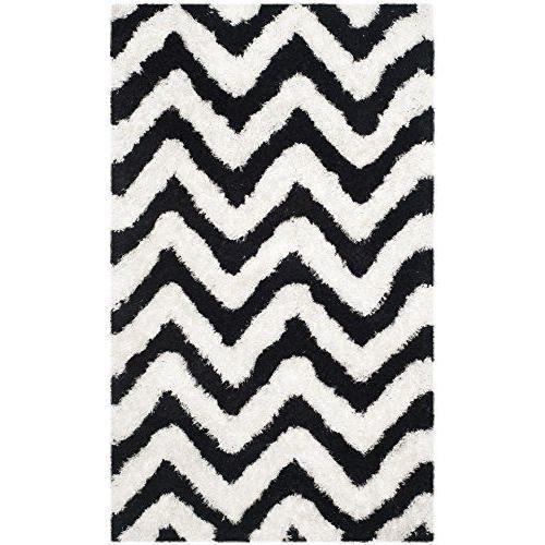 Tapis coton noir blanc achat vente tapis coton noir blanc pas cher cdis - Tapis coton pas cher ...
