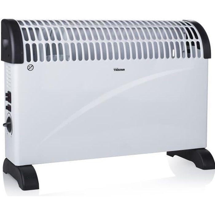 tristar chauffage lectrique convecteur fonction turbo. Black Bedroom Furniture Sets. Home Design Ideas