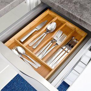 range couvert tiroir bois achat vente range couvert tiroir bois pas cher cdiscount. Black Bedroom Furniture Sets. Home Design Ideas