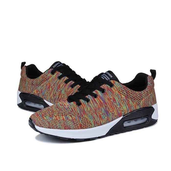 Chaussures de course pour hommes 43 GEERBU chaussures de sport respirant sneaker chaussures confortables