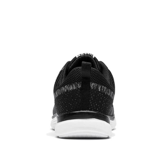 C-x229noir39 Basket homme Ultra léger Chaussures running homme Confortable Classique Chaussures de sport Qualité Supérieure st9alZD