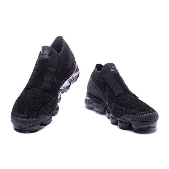 2c62e51da90e4 Nike Air Vapormax FK CDG Comme Des Garcons Baskets Chaussures De Sport Noir  Noir NOIR - Achat   Vente espadrille - French Days dès le 26 avril !  Cdiscount