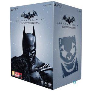 JEU PS3 BATMAN ARKHAM ORIGINS COLLECTOR / Jeu console PS3
