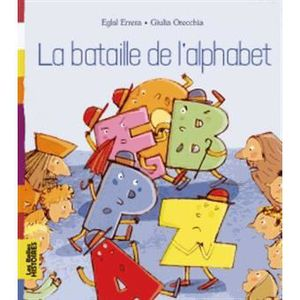 Livre 3-6 ANS Bataille de l'alphabet