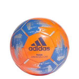 buy online 4e159 7bc28 BALLON DÉCORATIF Ballon adidas Team JS290 - orange fluo bleu argent